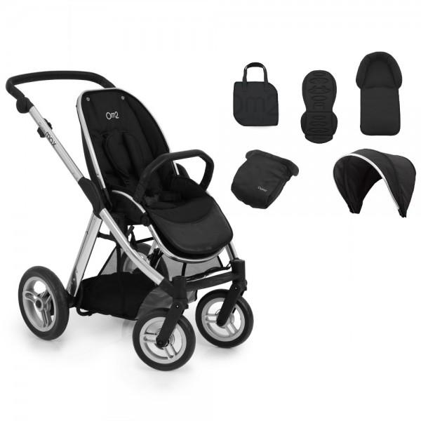 Kinderwagen OysterMax-Fahrgestell + Farbpaket für Sitzeinheit