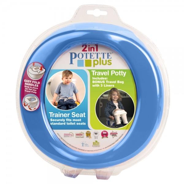 2in1 Potette Plus - Reisetöpfchen