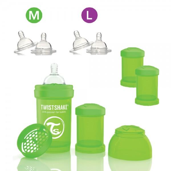 Twistshake Trinkflaschen-Set 330ml